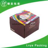 주문을 받아서 만들어지는 다채로운 음식 급료 주름을 잡은 케이크 수송용 포장 상자