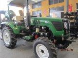 trattore agricolo di agricoltura di 45HP 50HP 55HP 60HP 4WD con il caricatore/escavatore a cucchiaia rovescia della parte frontale