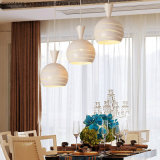 Casa moderna Iluminación lámpara de araña en aluminio
