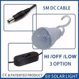 3 W Panneau Solaire système d'éclairage rechargeable