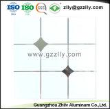 La vente en gros panneau de plafond en aluminium avec des prix d'usine de matériaux de construction