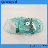 Máscara de oxígeno Non-Rebreathing desechable con 600ml o 800ml o bolsa de depósito de 1.000 ml
