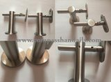 Acero inoxidable de alta calidad de diseño moderno de barandilla de escalera pasamanos de tubo redondo de la escuadra