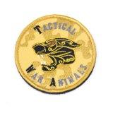 La clásica Animal personalizado bordado del logotipo de parches para las prendas de vestir
