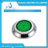 Acier inoxydable 316 12V Blanc LED RVB rempli de résine lampe sous-marine de la piscine