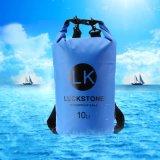 キャンプする10L屋外の水泳の防水乾燥した袋記憶乾燥した袋Bag+Adjustableストラップのホックの水泳の記憶のバックパックBolsaをいかだで運ぶ