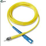 Circolatore su un lato ottica del cavo di zona di singolo modo dello St-Sc del collegamento di informazioni della fibra per la strumentazione di CATV
