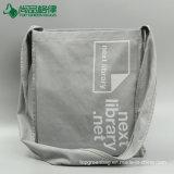 Sacchetto di Tote amichevole del cliente del sacchetto della tela di canapa della spalla del sacchetto della cinghia di grande capienza di Eco forte