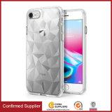 Крышки сотового телефона новой конструкции гибкие TPU текстуры диаманта 3D
