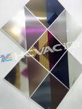 錫の金か青または黒いカラー鋼板のための装飾的なコーティングPVD機械