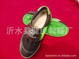 Sola de borracha ocasional e clássica das sapatas de lona para a mulher