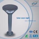 3~5W exterior de aluminio Solar LED Lámpara de iluminación del jardín de césped