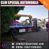 carro de remolque del camión de auxilio del remolque de la recuperación del camino de la remolque dos de 4X2 Foton 3ton 5ton uno