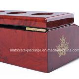 Коробки изготовления коробки пакета шикарных деревянных ювелирных изделий безопасные/пакета Jewellry