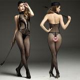 Prodotti erotici degli indumenti da notte della biancheria della biancheria dai costumi del vestito di immaginazione del giocattolo della biancheria intima sexy calda sexy del reticolato per le donne