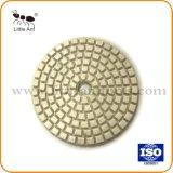 Boa qualidade do preço barato almofadas de lustro molhadas do assoalho de 3 polegadas