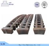 Grille automatique élevée de broyeur de pièces de défibreur du manganèse Zgmn14 Zgmn18