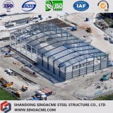 Prefab стальное здание фабрики конструкции с тяжелой сталью
