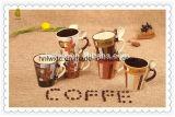 Taza de café de cerámica árabe al por mayor 11oz con la cuchara