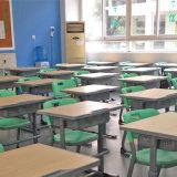 Mesa do estudo do estudante e mobília ajustáveis da cadeira/escola