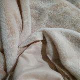 Pelliccia del coniglio lavorata a maglia filo di ordito molle eccellente