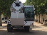 Self-Loading Mobile Betoneira Máquina de construção do veículo
