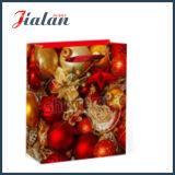 Diseño clásico impreso insignia de encargo de las ventas al por mayor que hace publicidad del bolso de papel del regalo