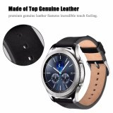 Bracelet en cuir véritable Smart Watch Watch Band /Bracelet Bracelet en cuir pour Samsung S3 d'Engrenage 22mm