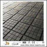 G684 Natural de adoquines de granito negro/mosaico de piedra