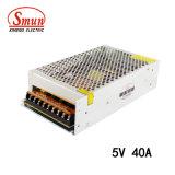 Smun S-200-5 200W 5V 40A Ein-Outputschaltungs-Stromversorgung