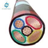 3X120 + 1X70 Sqmm XLPE изолированных медных провода кабеля питания