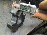 Macchina per il taglio di metalli del laser della fibra per mini elaborare del pezzo in lavorazione di formato