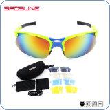 Стекла спорта Гуанчжоу Jianghua с солнечными очками UV400 Camo цвета высокого качества по-разному