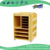 유치원 시골풍 목제 이동할 수 있는 예술은 공급한다 내각 장비 (HG-4505)를