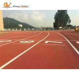De geprefabriceerde RubberBroodjes van de Vloer voor Atletische Renbaan
