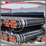 Mercado API 5L GR de África do Sul. Tubulação de aço pintada preta de carbono de B ERW