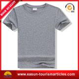 Cheap White Tee-shirt Knitting machine Solid Color Tee-shirt (ES320171013AMA)