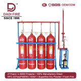 Equipamento de combate a incêndio competitiva de gás inerte 80L IG541 Supppression de Incêndio