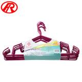 Chemise de métal antidérapant Hanger avec crochet en métal (T32)