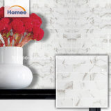 Кухня оформление микросхема 75x300мм искусства белый стеклянной мозаики плитки