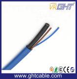 Mutimedia Câble coaxial RG6 avec le Réseau de 4p câble UTP CAT5e