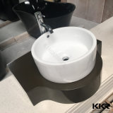 Kkr Harz-Stein-festes Oberflächenwäsche-Bassin für Badezimmer-Raum (180103)
