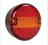 E-marque ronde LED Hamburger remorque de camion témoin de butée arrière