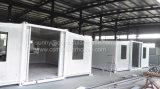 Bajo costo de construcción de la casa contenedor ampliable/Casa modular ampliable