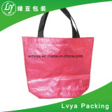 Sac stratifié non tissé de pp pour des achats, sac d'emballage respectueux de l'environnement