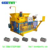 Máquinas de fabrico de tijolos ocos Qmy6-25 máquina para fazer blocos de cimento de betão