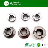 Noix de soudure de bride de l'acier inoxydable SS304 SS316 d'A2 A4