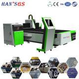 Máquina de estaca do laser do metal de folha dos convites do corte do laser para o alumínio e o bronze