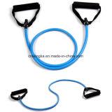 Le yoga de l'exercice de la bande élastique de la résistance de remise en forme de tubes de corde