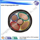 Câble d'alimentation isolé par PVC de 3 faisceaux
